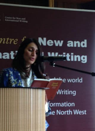 Mona Arshi reading